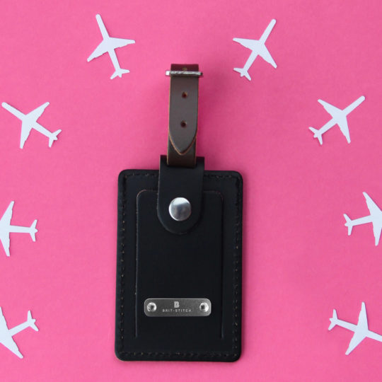 Brit-Stitch Luggage Tag