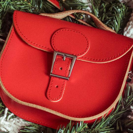 Brit-Stitch Half Pint Satchel Bag