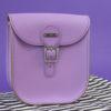 Brit-Stitch Milkman Medium Satchel Bag