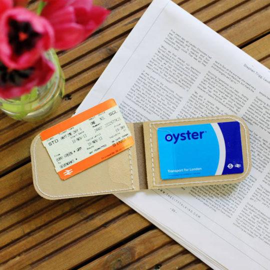 Brit-Stitch Milk Token Wallet