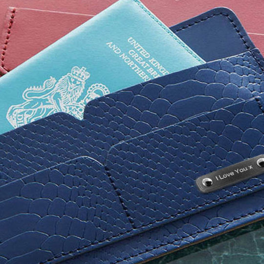 Brit-Stitch Travel Wallet