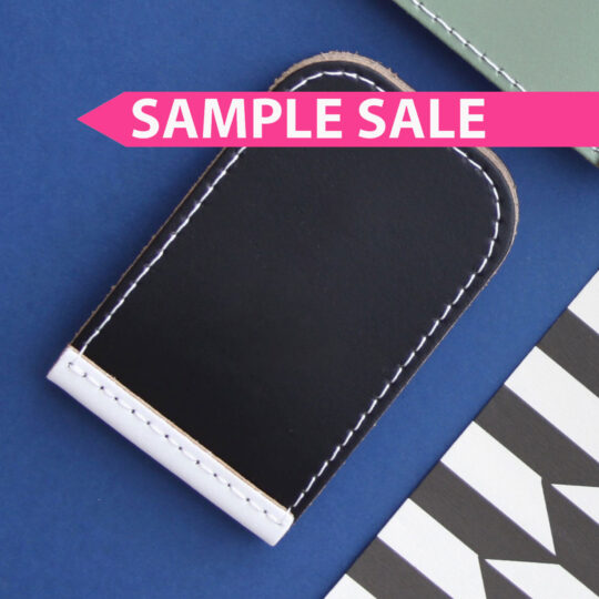 SAMPLE SALE Milk-Token-Black-White