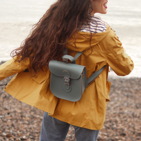 Backpack in Stormy Sea