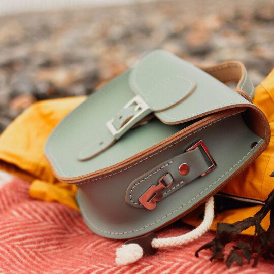 Half Pint Small Satchel Bag - Stormy Sea